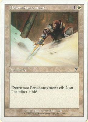 Désenchantement français Septième édition. Pointe de gris.