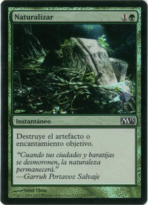 Naturalisation espagnol M13 foil