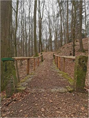 Trail Passage zur Bühne