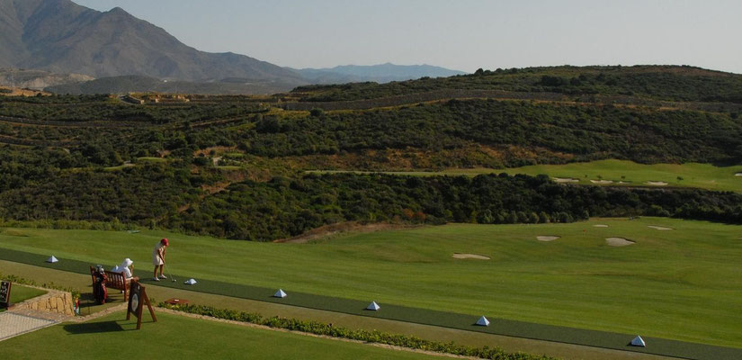Tee Line Golf club Finca Cortesin