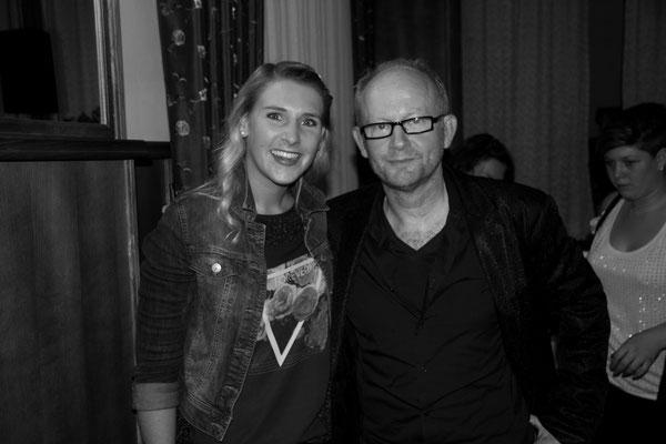 mit Dieter Falk - Vielen Dank für das schöne Workshop-Wochenende!!!