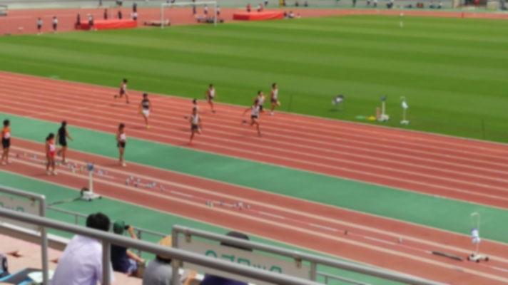100m男子6年