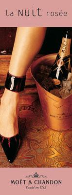 MOET & CHANDON - Anzeige Launch Rosé Champagner