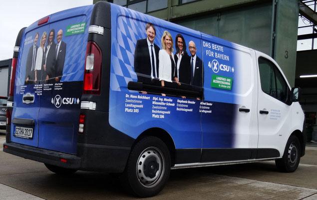 CSU - Autobeschriftung 2018