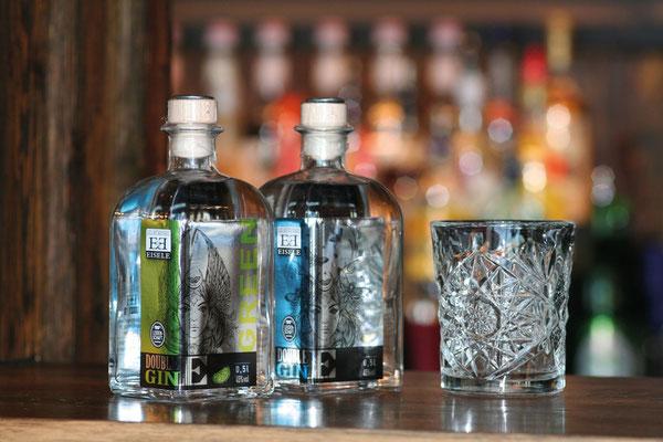 EDELOBSTBRENNEREI EISELE- Etikettengestaltung Gin
