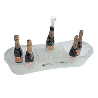 MOET & CHANDON - Entwicklung Thekendisplay Launch Rosé Champagner