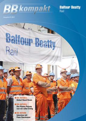 BALFOUR BEATTY RAIL - monatliche Mitarbeiterzeitung