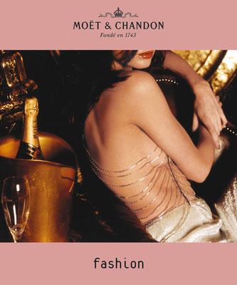 MOET & CHANDON - Plakat Launch Rosé Champagner