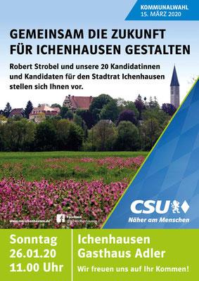 CSU - Einladung Kandidatenvorstellung