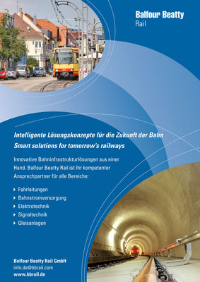 BALFOUR BEATTY RAIL - Anzeige