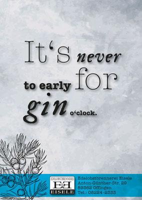 EDELOBSTBRENNEREI EISELE- Flyer Gin