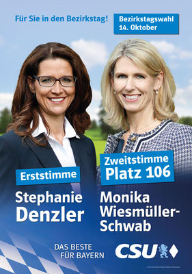 CSU - Wahlplakat 2018