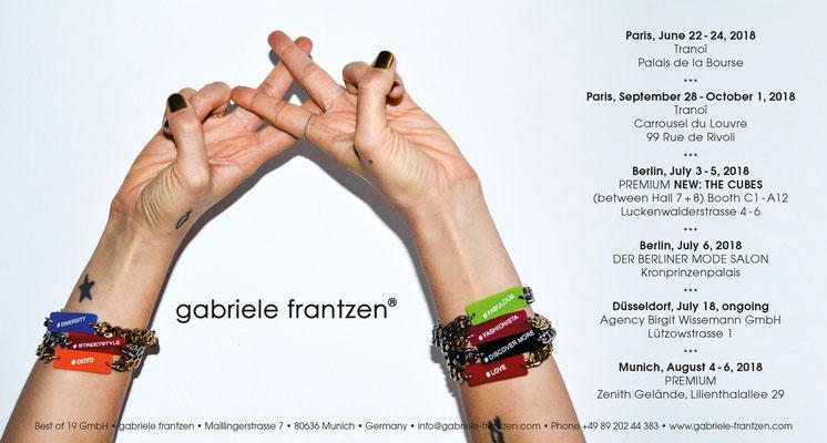 gabriele frantzen - Einladung Messe Paris 2018