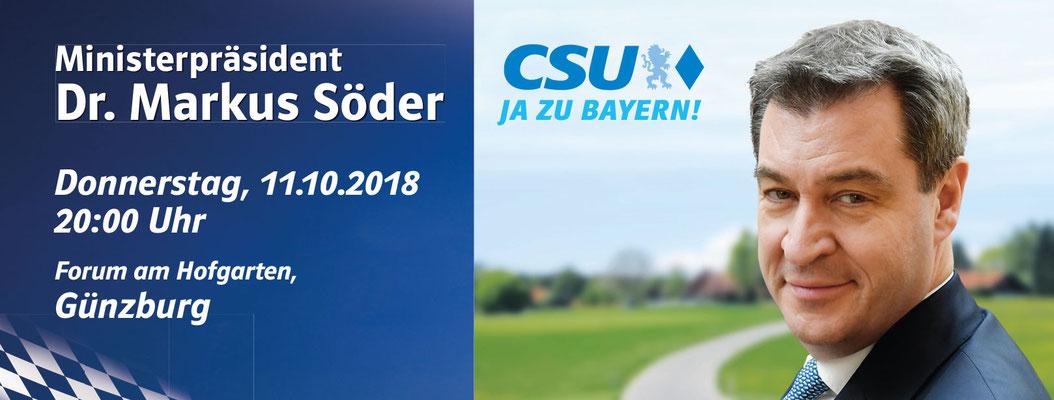 CSU - Veranstaltung 2018