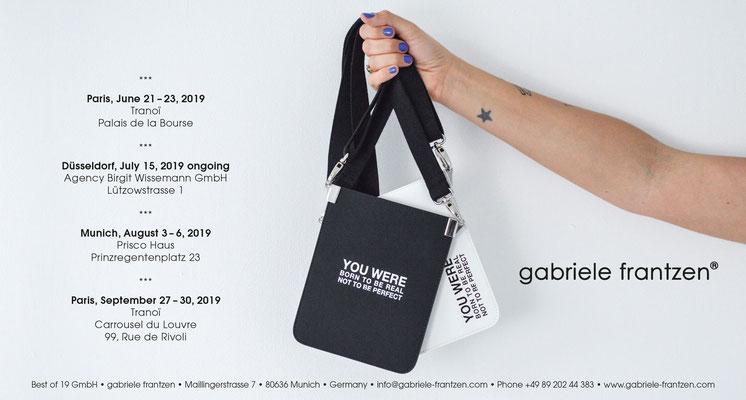 gabriele frantzen - Einladung Messe Paris 2019