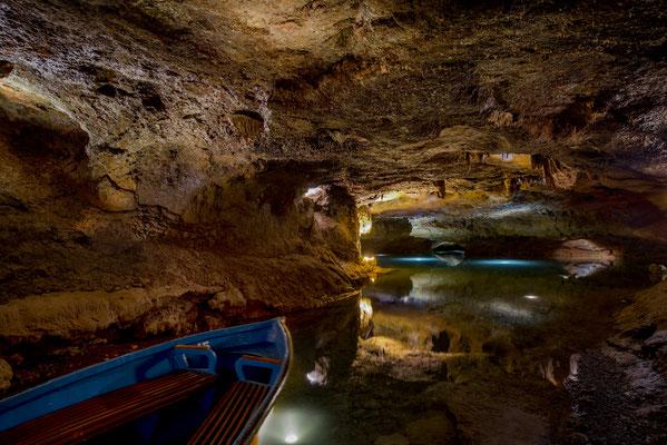 Boote San Jose unterirdische Flussfahrt fahren Höhle