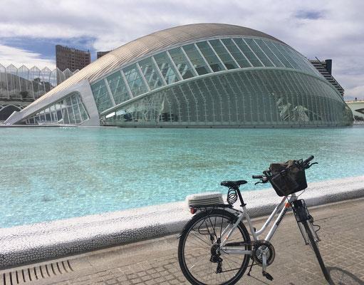 Fahrradtour CAC Hemisferic bike