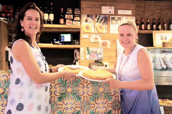 Eline van den Heuvel Stephanie Schulz Valencia tapas Tour tortilla essen spanien