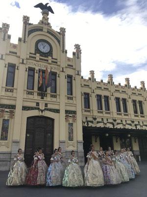 Hauptbahnhof Estación del Norte Falleras