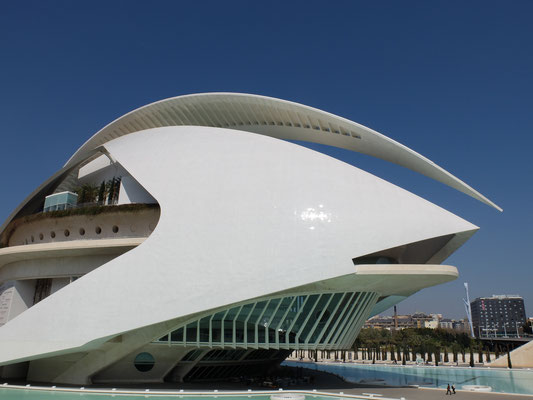 Palau de les Arts Opera Oper trencadiz