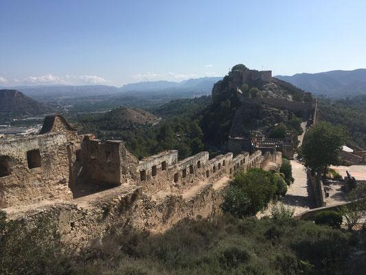 Burg Xativa Schloss Aussicht