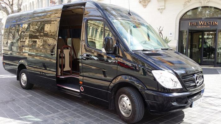 Prive Chauffeur Mercedes Valencia