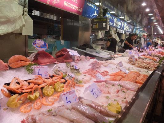 Fisch Markt frisch