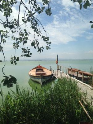 Boot See fahren Albufera