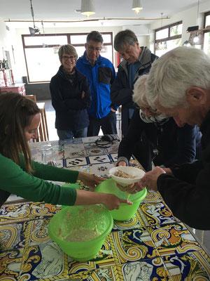 Workshop Horchata Chufas teilnehmen Alboraya