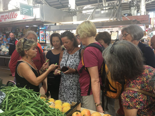 Markt inkopen kruiden workshop
