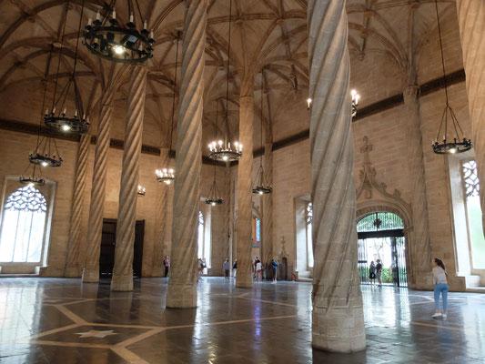 Zijdebeurs La Lonja UNESCO