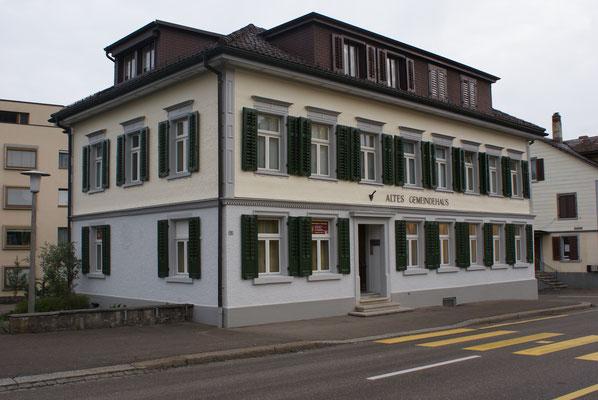 Altes Gemeindehaus Sirnach, Innere und Äußere Malerarbeiten