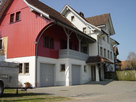 Wohnhaus Hosenruck, Innere und Aeussere Malerarbeiten
