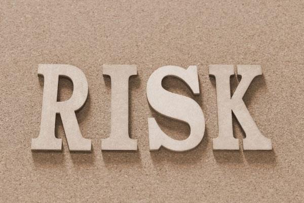RISKの文字