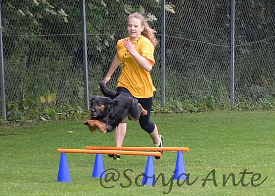 Jasmin & Robin Hindernislauf