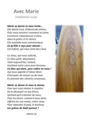 Marie José : Cté St Jacques