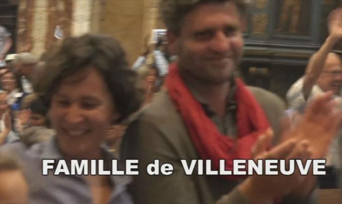 Rome : Vigile pour Emilie : Nathalie et Jean Guilhaume de Villeneuve