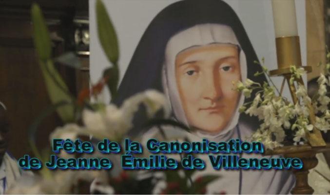 Rome mai 2016 : canonisation d'Emilie de Villeneuve