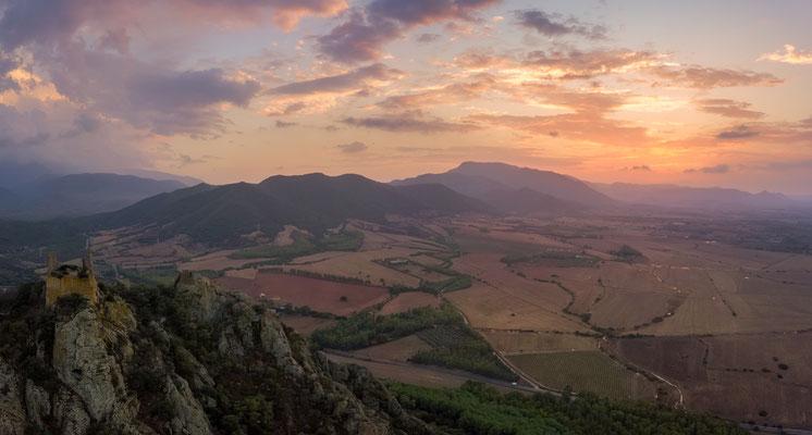 Panoramica castello Acquafredda Siliqua