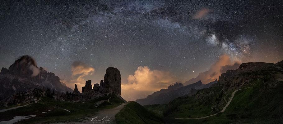 Milky Way, 5 torri