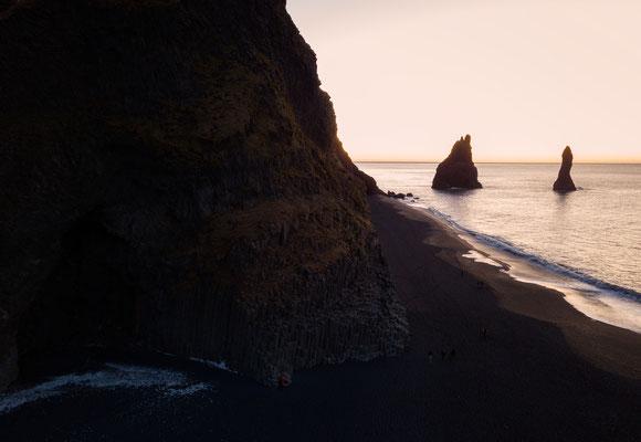 Reynisfjara Black Sand Beach -Iceland