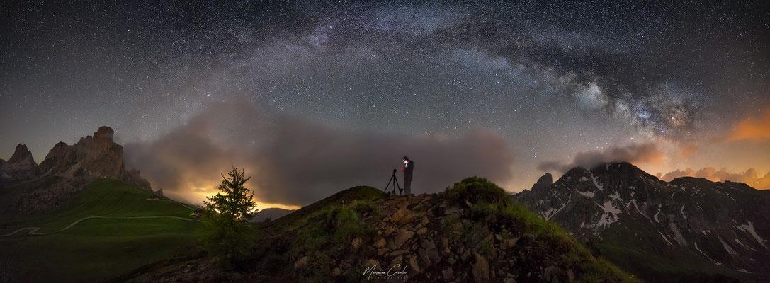 Milky Way, Passo Giau