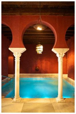 piscina templada