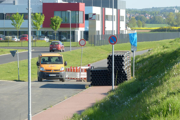 Bauarbeiten an der Erdkabelverlegung - Foto: Björn Behrendt