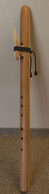 Große D-moll Bass-Indianerflöte ca. 65cm 340.- Euro zzgl. 8.- Euro Versand