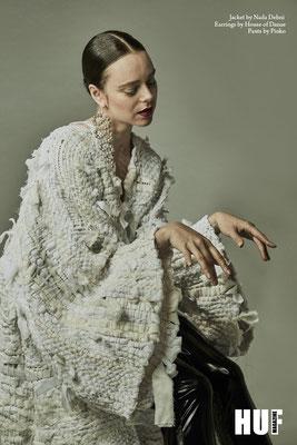 Hair & Make-up: Paula Bethge I Kunde: HUF Magazine I Fotograf: Pezhman Zahed I Stylist: Sílvia Sousa I Model: Bronjol