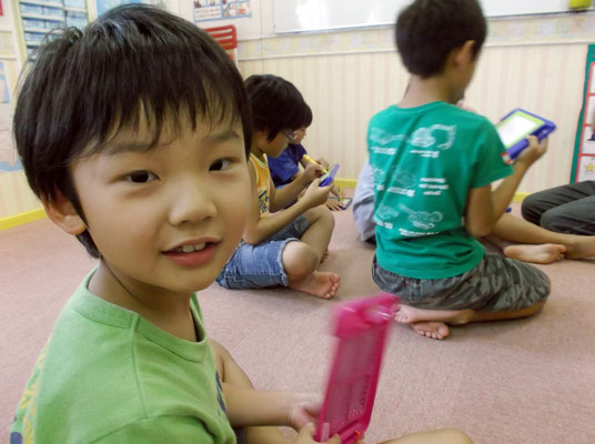 "BLUE GUM英会話教室・キッズ英語講座・""I'm learning to read, write AND speak English"""