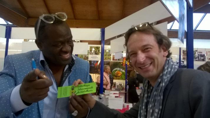 Alain Mabankou et François Busnel