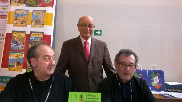 Daniel L'Homond, Jean-Paul Dumas et leur éditeur