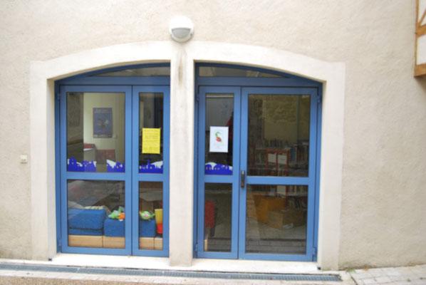 L'entrée des groupes scolaires et du Centre de Loisirs